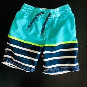 Carter's Toddler Boys' Blue Swim Trunks